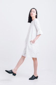 Embossed Cruise Dress