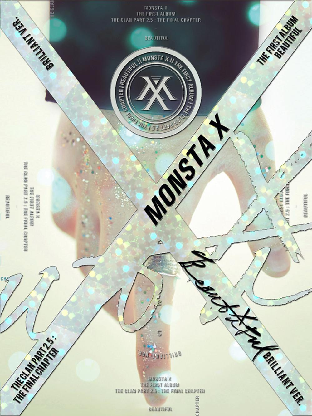 """MONSTA X - 1st Album : The Clan 2.5 """"BEAUTIFUL"""" X Album"""