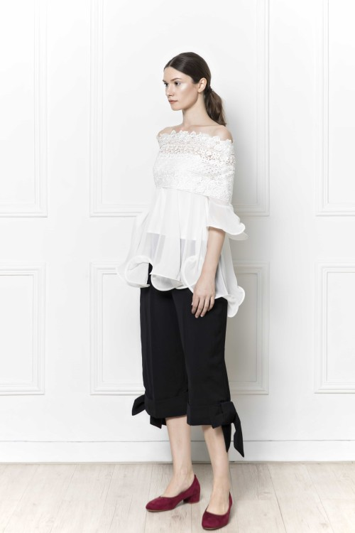 Leith Lace Top