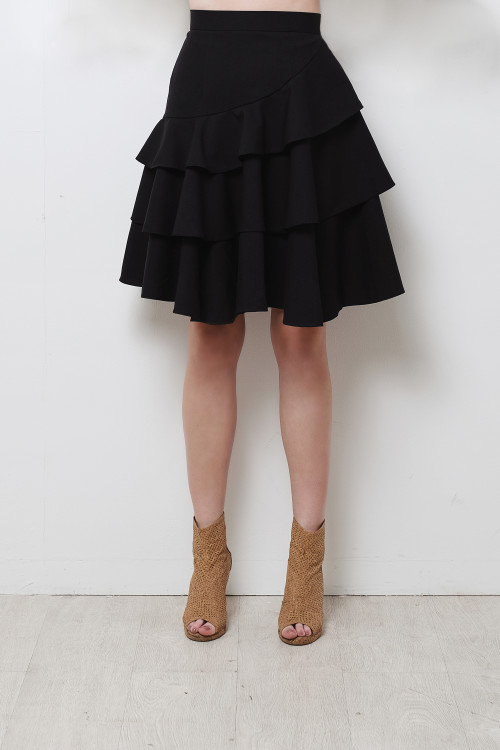 Korein Tiered Skirt
