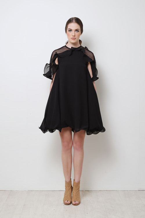Kero Ruffle Dress