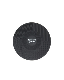 Black Brush Cleansing Mat with Suction