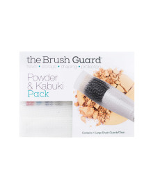 Kabuki & Powder Brush Guard-Clear
