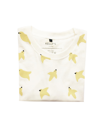 Birds Patterns Oversize T- Shirt image