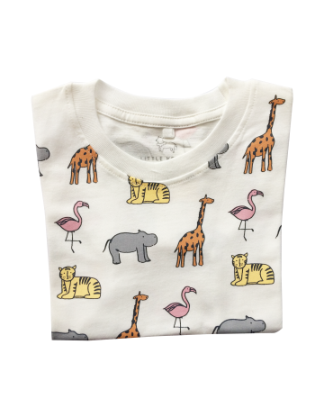 Little Jungle Friends T-Shirt image