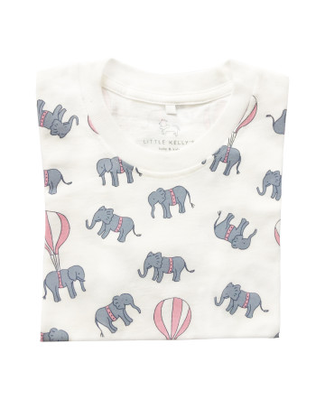 Little Elephant and The Balloons T-Shirt image