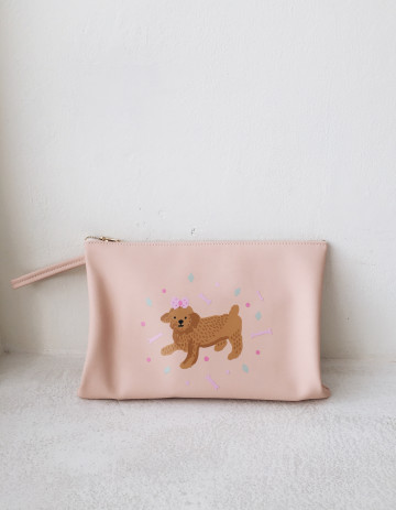 Toy Poodle Clutch image