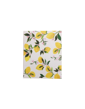 Lemon Pattern Notebook image