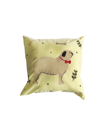 Pug Cushion Cover (Cover Only) image