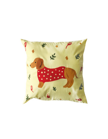 Daschund Cushion Cover (Cover Only) image