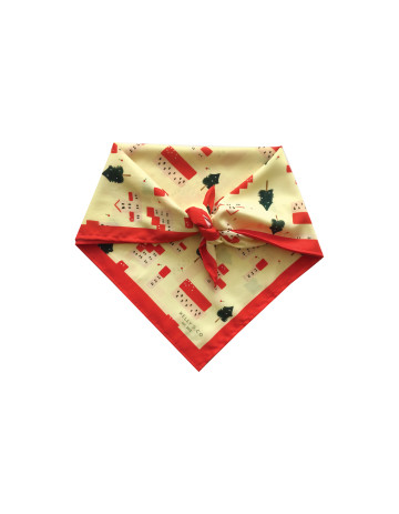 Mini Winter Village Scarf image