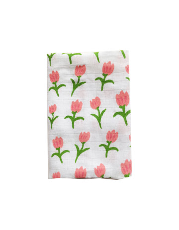 Tulip Fields Tea-Towel image