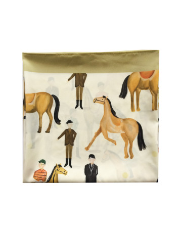 Horse Racing Inspired Scarf image