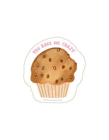 Muffin Cut-Out Card image
