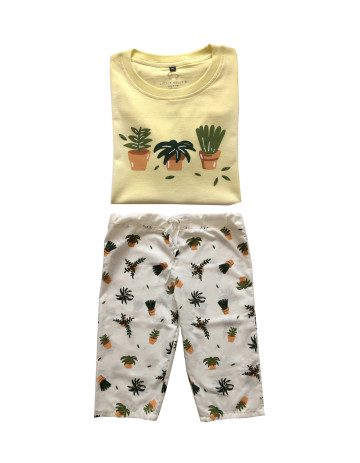 Little Plants Sleepwear Set image