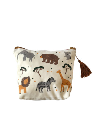 Jungle Multifunction Baby Pouch image
