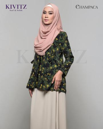 TARI TOP (Pattern Black) image