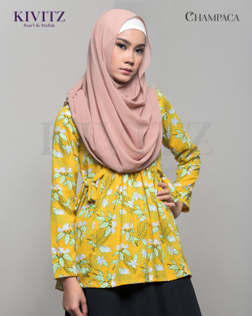 TARI TOP (Pattern Yellow) image