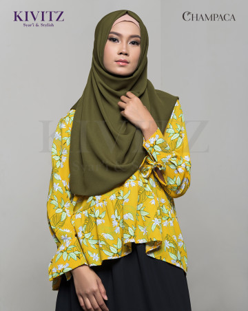 ANNIE TOP (Pattern Yellow) image