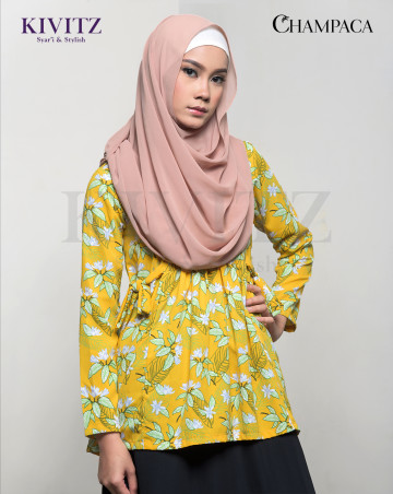 TARI TOP (Yellow Pattern) image