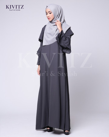 ANDARA DRESS (Grey) image