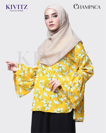 RAVA TOP (Yellow Pattern) image