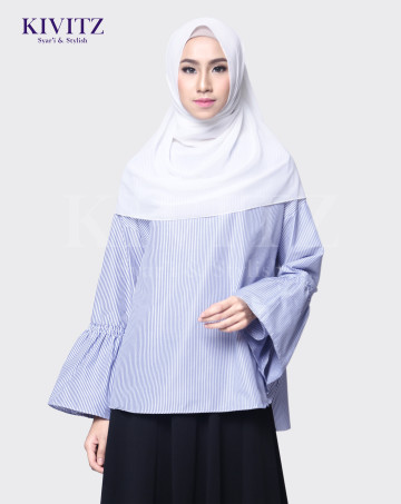 RAVA TOP (Blue Stripes) image