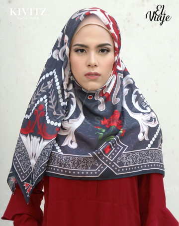 WINA LIMITED SCARF - Voal (Black) image