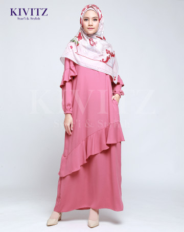 VIGO DRESS (Dusty pink) image