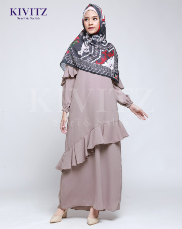 VIGO DRESS (Warm Grey) image