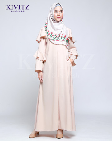 ANDARA DRESS - Cream image