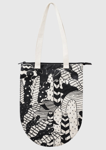 TREES TOTEBAG image