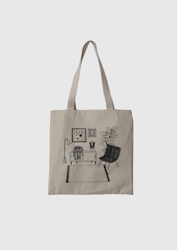 RELAX ROOM TOTE BAG image