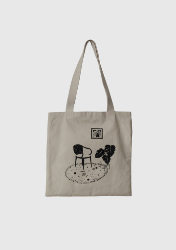 RELAX and MONSTERA TOTE BAG image