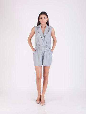Grey Ellie Playsuit