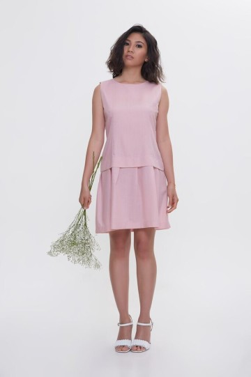 Pink Flare Michelle Dress