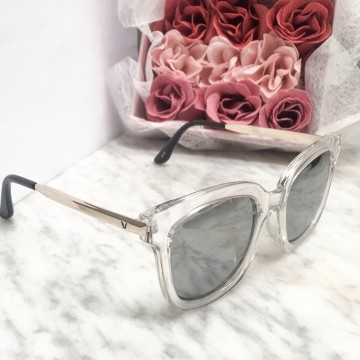 Sidney Sunglasses in Clear