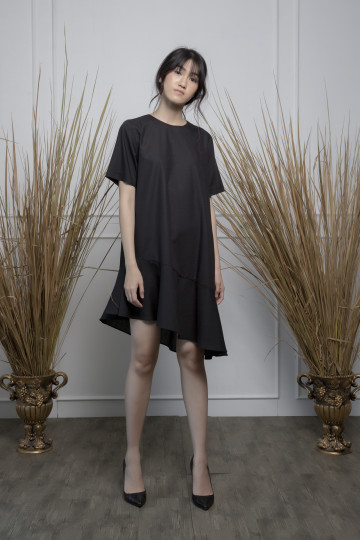 Black Flare Angela Dress