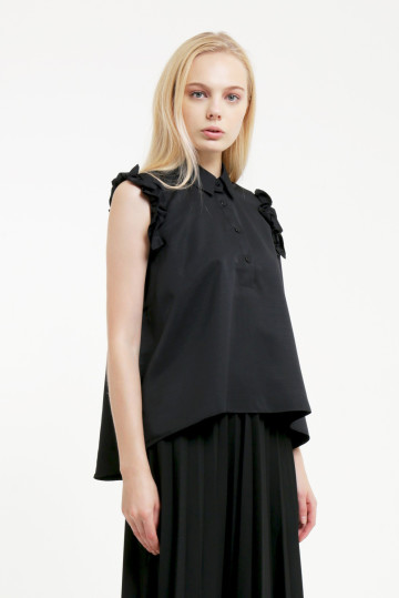 Black Laura Top