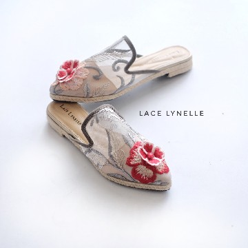 S. Evelyn Grey Mules