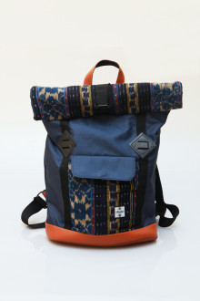 Fold Backpack Blue