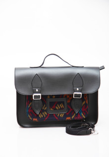 Manikan Satchel Black