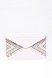 Envelope Bag White Grey