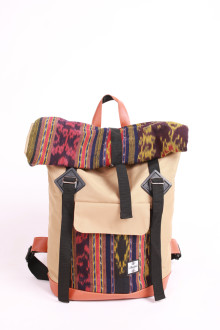 Fold Backpack Cream