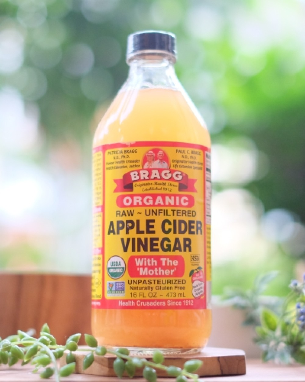 Bragg Apple Cider Vinegar Unpasteurized And Unfiltered Glass Ml