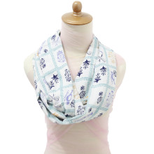 Infinity Nursing Scarf - English Garden