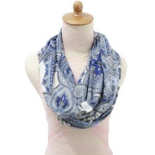 Infinity Nursing Scarf - Magic Blue