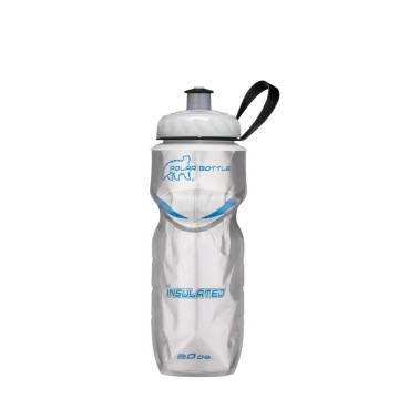 POLAR BOTTLE INSULATED BOTTLE GRAPHIC PLATINUM image