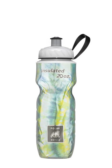 POLAR BOTTLE INSULATED BOTTLE TIE DYE SURF 20OZ image