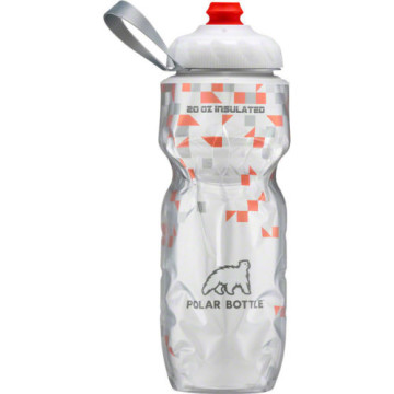 POLAR BOTTLE INSULATED BOTTLE BREAKAWAY ORANGE 20OZ image